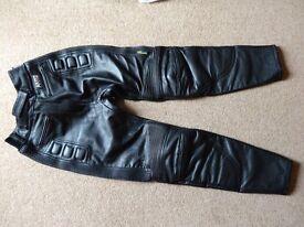 Akito, ladies leather motorbike trousers