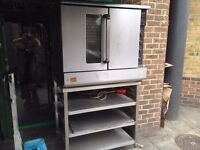 CATERING COMMERCIAL CONVECTION FAN OVEN TAKE AWAY BAKERY PATISSERIE CAFETIERE RESTAURANT KITCHEN
