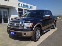 2011 Ford F-150 Lariat + Cooling Leather Seats!