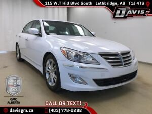 2014 Hyundai GENESIS SEDAN 3.8 HEATED LEATHER, SUNROOF, BLUET...