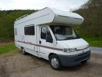 Motorhome hire - £750.00 per week