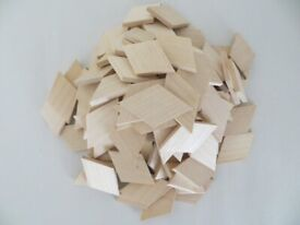 Bundle of sycamore craft pieces