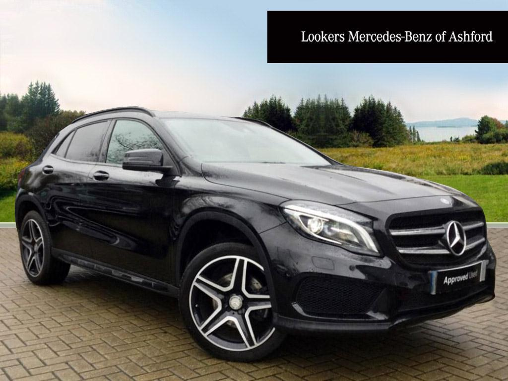 mercedes benz gla class gla 220 d 4matic amg line premium black 2015 12 29 in ashford kent. Black Bedroom Furniture Sets. Home Design Ideas