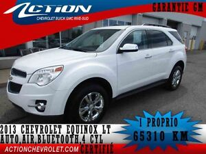 2013 CHEVROLET EQUINOX FWD LT AUTO,AIR,BLUETOOTH,4 CYL