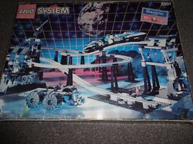 lego space monorail 6991 set