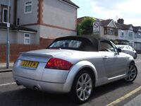 /// AUDI TT ROADSTER 1.8 T QUATTRO 225 BHP /// CONVERTIBLE/CABRIOLET /// PRIVATE PLATE LEATHERS /