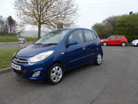HYUNDAI I10 ACTIVE HATCHBACK BLUE NEW SHAPE 2011 ONLY £20 ROAD TAX BARGAIN £2195 *LOOK* PX/DELIVERY