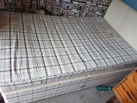 double divan and mattress