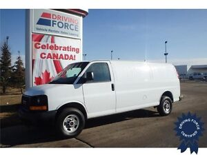 2016 GMC Savana Extended Cargo Van Rear Wheel Drive - 22,151 KMs