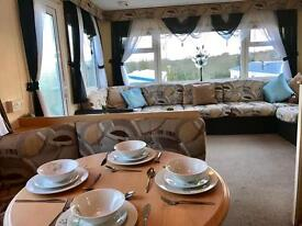 Stunning cheap D/G 3 bedroom static caravan for sale north east coast pet friendly county Durham