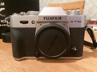 Fujifilm XT10 Body in MINT CONDITION