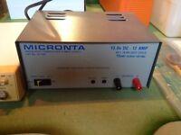 Marine VHF radio equipment.
