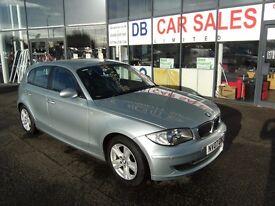 2007 07 BMW 1 SERIES 2.0 120I SE 5D 168 BHP **** GUARANTEED FINANCE **** PART EX WELCOME