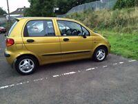 Daewo Matiiz - FSH - 16k Miles - Mint car - Bargain - 12 M.O.T - F.C.P £1895