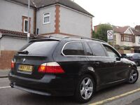 /// BMW 520D AUTOMATIC DIESEL TOURING /// 2008 PLATE STICK SHIFT FACELIFT /// 5 SERIES ESTATE ///