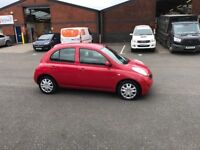 Nissan micra automatic low miles long m.o.t £750