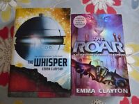Brand new Emma Clayton The Roar and The Whisper