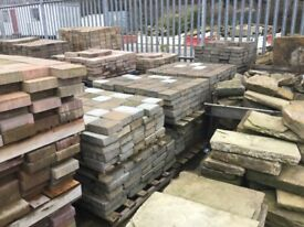 Used block paving,tegula paving various sizes/thicknesses £10 m2