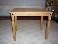 small oak coffee table (new)