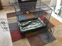 Pet cage, double door, medium