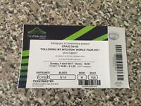 Craig David 1 ticket tonight 9th april £35