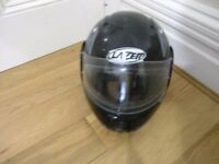 Lazer Black Touring Motorcycle helmet L59/60 Flip Front Weymouth Free local delivery