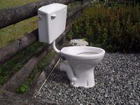 FREE White Ceramic Toilet with cistern