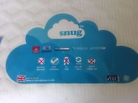 SNUG Memory foam coolmax topper Super kingsize 180x200x10cm/4 inch (unused)