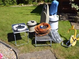 Various Caravan equipment all in very good condition some like new well looked after