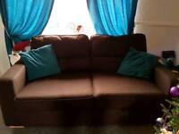 Free to take two 3 seater sofas