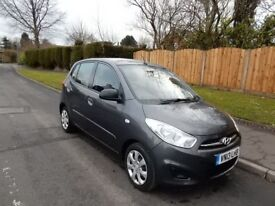 2013 HYUNDAI CLASSI 2013 I10 £30 ROAD TAX LOW MILEAGE ONE OWNER FROM NEW