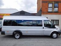 Finance Available at £8.80 per day Ford Transit LWB 17 seat factory fitted minibus (41)