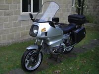 BMW R80RT 27389 genuine miles,full luggage,tool kit and in lovely condition. £3350