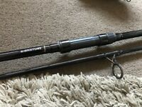 Wychwood Signature Carp Fishing Rod 12ft 3lb 2 Piece - Mint Great Fishing Rods