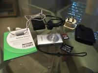 Canon Ixus 240HS 16.1MP digital camera, with 16GB memory card and leather case