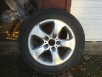 BMW X3 alloy wheels