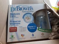 Dr brown premature baby bottle brand new in box