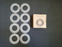 Shirlan Micro Fractional Olympic Weight Plate Set (8x0.25kg)