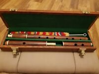 Irish rosewood flute, never used.