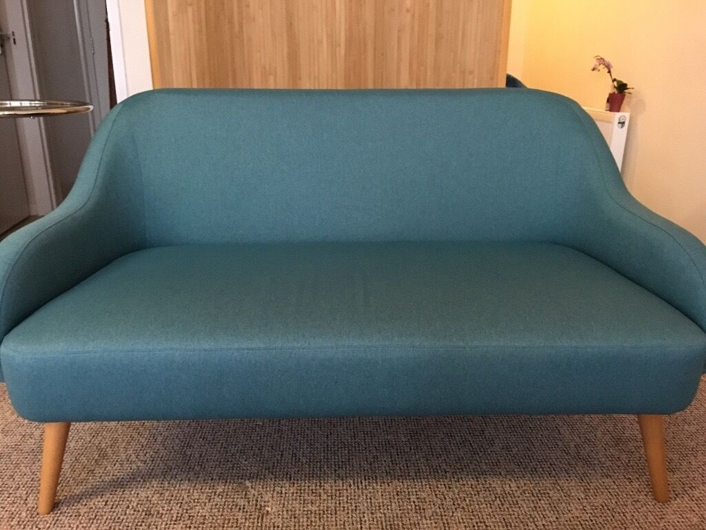 Teal Habitat 2 Seater Momo Sofa In Camden London Gumtree