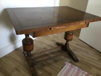 Wooden, Extendible Dining Table // Price Negotiable