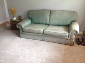 Green 3 piece sofa, very comfortable and well looked after.