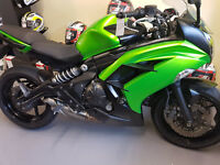 2013 Kawasaki ER6-F 649cc Motorcycle. £3250. 16866 Miles. 12 months Mot. Professionally maintained