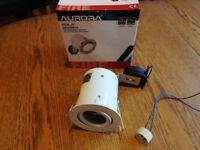 Downlights - white, adjustable, fire-rated 12V or 240V - Aurora