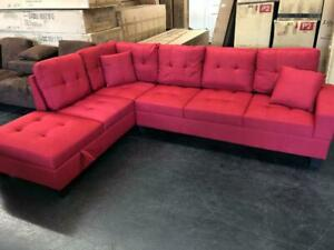 14.99% Financing Available!!  New Sectionals only $899 taxes included with Free Curbside Delivery with HRM!.
