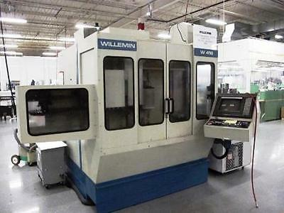 Willemin W418b 5-axis Vertical Machining Center