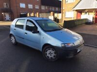 2001 FIAT PUNTO WITH MOT ONLY 75000 MILES DRIVES AMAZING