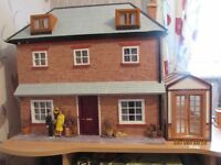 home made dolls house