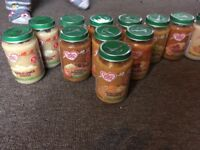 20 jars cow and gate baby food