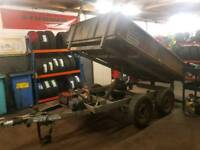 Ifor williams 8x5 electric tipping trailer
